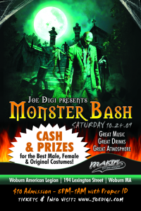 Monster Bash Halloween Party Woburn Ma